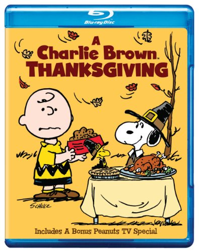 Cover art for  A Charlie Brown Thanksgiving [Blu-ray]