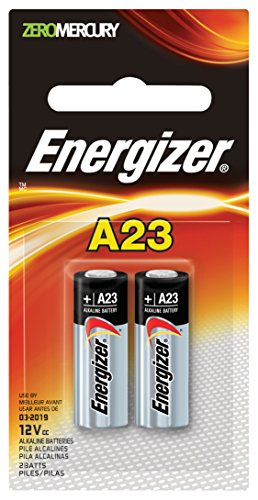 Energizer A23 Battery, 12 Volt - 2 Pack (Battery 23a 12v compare prices)