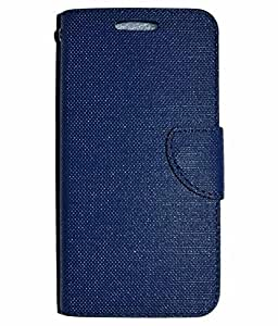 ZYNK CASE FLIP COVER FOR GIONEE S6S-BLUE