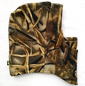 Acide tactique® Temps Froid en polaire Camouflage Cagoule Masque complet capuche camouflage-Airsoft Champ