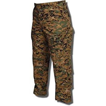 Tru-Spec Tactical Response Uniform Pant Poly/Cotton Rip-Stop - Woodland Digital - X-Small Short