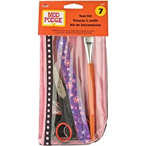 Plaid:Craft  Modge Podge Tool Kit-7pcs