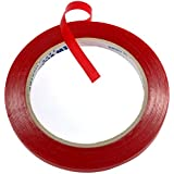 Foxnovo 5m*10mm Super Sticky Heat Resistant Car Auto Double-sided Clear Acrylic Adhesive Foam Tape