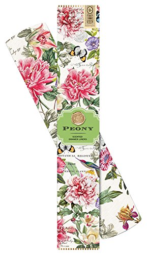 Michel Design Works Scented Drawer Liners, Peony (Scented Drawer Liners Baby compare prices)