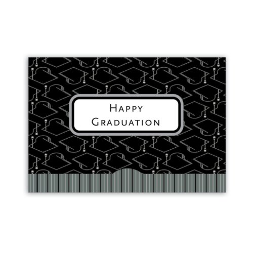 Jillson Roberts Gift Card Holders, Grad Caps, 6-Count (GCP039)