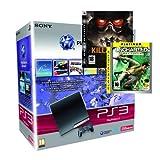 echange, troc Console PS3 Slim (250 Go) + Killzone 2 + Uncharted Drake's Fortune