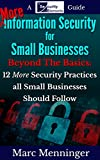 img - for More Information Security for Small Businesses: Beyond The Basics: 12 More Security Practices all Small Businesses Should Follow book / textbook / text book