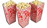 "Regency Single serve pop-up Popcorn Boxes 25-pack 6.25""X3.5"" X 3.5"" when open"