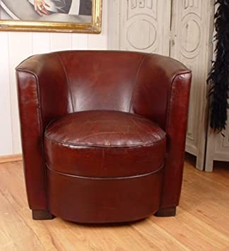 ART DECO LEATHER CHAIR CLUB CHAIR Palazzo Exclusive