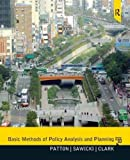 img - for Basic Methods of Policy Analysis and Planning 3rd edition by Patton, Carl, Sawicki, David, Clark, Jennifer (2012) Paperback book / textbook / text book