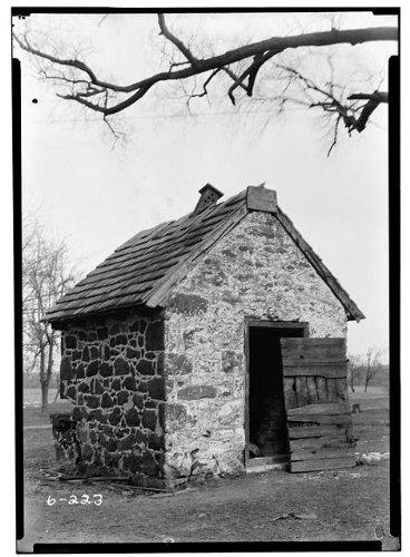 Outbuildings on Wick Farm on Church Road in Merchantville, New Jersey