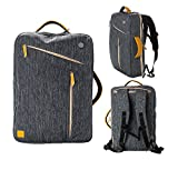 eimo Trasformabile bag zaino per notebook da 15 pollici impermeabile con tasche multi-dimensioni per notebook 15