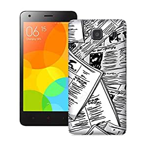 ZAPCASE PRINTED BACK COVER FOR XIAOMI REDMI 2S- Multicolor