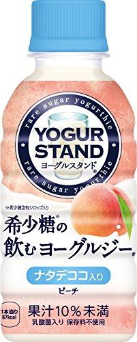 yoguruji-peach-190ml-petx30-this-that-drinking-coca-cola-minute-maid-yogurt-stand-rare-sugar