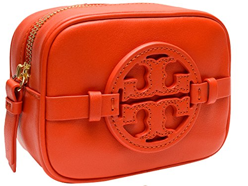 (トリーバーチ) TORY BURCH ポーチ ブラッドオレンジ レザー 28159317-815 ブランド 並行輸入品