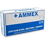Ammex AP Latex Glove, Medical Exam, Disposable, Powdered