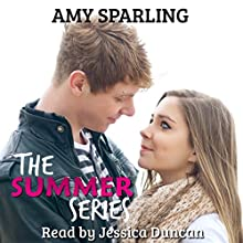 The Summer Series: Summer Alone, Book 1-4 (       UNABRIDGED) by Amy Sparling Narrated by Jessica Duncan