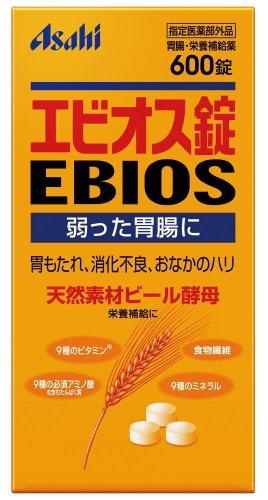 エビオス錠 600錠【指定医薬部外品】