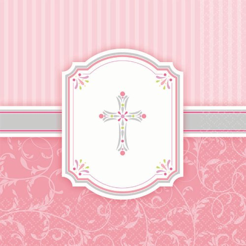 luncheon napkins lc blessings pink
