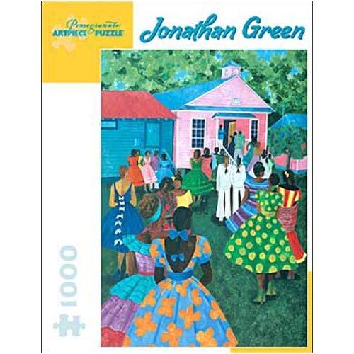 Cheap Pomegranate Communications Johnathan Green Silver Slipper Dance Hall 1000pc Jigsaw Puzzle (B001M535B8)
