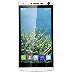 "5.0"" LANDVO V11 IPS qHD Schermo 3G Smartphone Android 5.1 MT6580M Quad Core 1.3GHz Cellulare 1GB RAM+4G ROM Dual SIM HotKnot Telefono Cellulare WIFI GPS,Bianco"