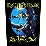 Iron Maiden - Backpatch Fear of the dark (in 23,5 cm x 20 cm)