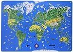 Magnettafel Illustrierte Weltkarte