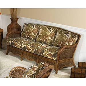 DO NOT SET LIVE!Turks Bay Sofa with Cushions Indoor Fabric: Tropic Tobacco