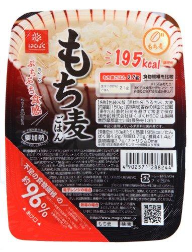 はくばく もち麦ごはん 無菌パック150g×6入り はくばく