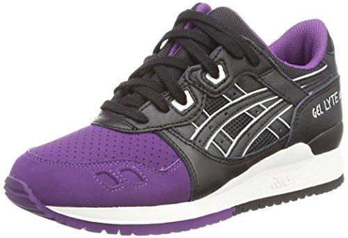 Asics Gel-Lyte III, Scarpe sportive, Unisex-adulto, Viola (purple/black 3390), 43