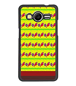 PrintDhaba Dolphin Pattern D-1850 Back Case Cover for SAMSUNG GALAXY CORE 2 G355H (Multi-Coloured)