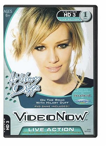 Videonow Personal Video Disc: On the Road with Hilary Duff - 1