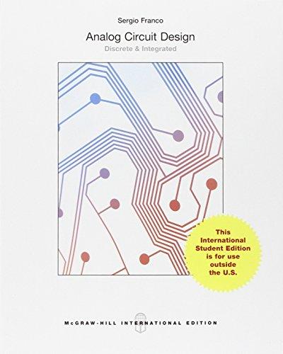 Analog Circuit Design: Discrete & Integrated (Int'l Ed)