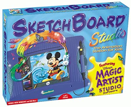 KB Gear Disney Sketchboard Studio