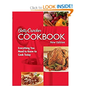 Betty Crocker Cookbook: Everything You Need to Know to Cook Today, 10th Edition