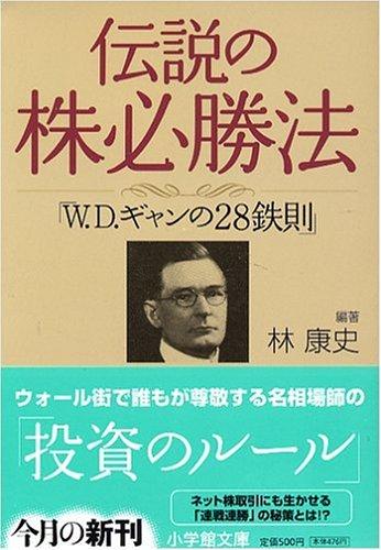 伝説の株必勝法「W.D.ギャンの28鉄則」