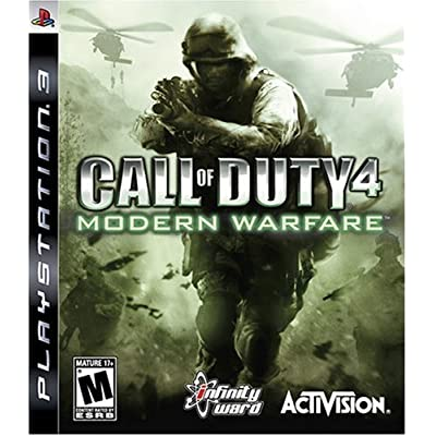 activision infinity ward call of duty 4