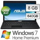 #1: Asus F55A-SX138DU(15,6 Zoll) Notebook (Intel Dual Core B830, 8GB RAM, 640GB S-ATA HDD, Intel HD, USB 3.0, WLAN, DVD-Brenner, Windows 7 Home Premium 64 Bit) #4406