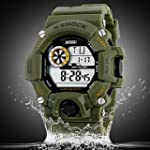 Men's Military Style Multi-Function L...