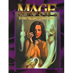 Mage Storytellers Companion (Mage Storyteller's Guide) by Jackie Cassada and Nicky Rea