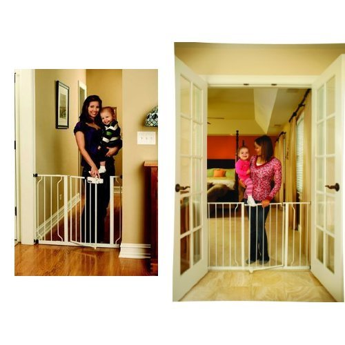 Regalo Easy Step Walk Thru Gate And Easy Open 50 Inch