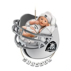Oakland Raiders Personalized Baby