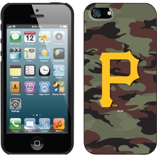 Great Price Pittsburgh Pirates - Traditional Camo design on a Black iPhone 5 Thinshield Snap-On Case by Coveroo