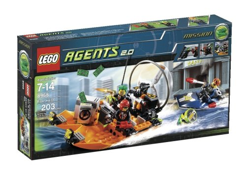 LEGO Agents 8968 - Raubüberfall am Fluss