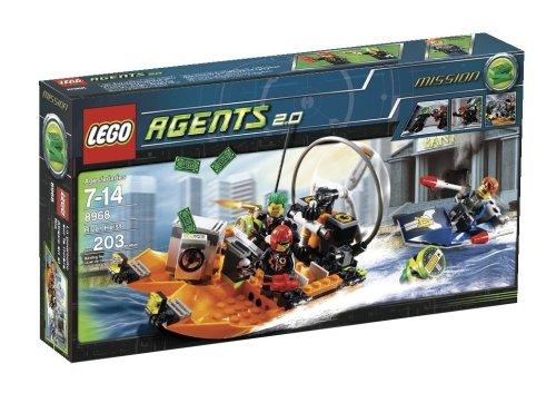 LEGO Agents 8968 - Raubüberfall am Fluss