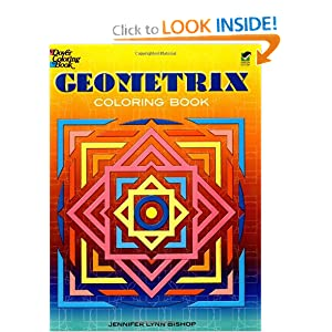 Geometrix Coloring Book (Dover Design Coloring Books) Jennifer Lynn Bishop, Coloring Books and Coloring Books for Grownups