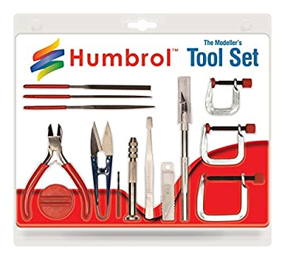 Modeller's Medium Tool Set and Accessories Humbrol