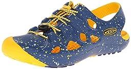 KEEN Rio Sandal, True Blue/Yellow, 13 M US Little Kid