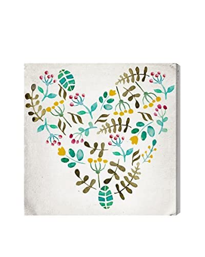 Oliver Gal Artist Co. Country Heart, Multi, 20 x 20