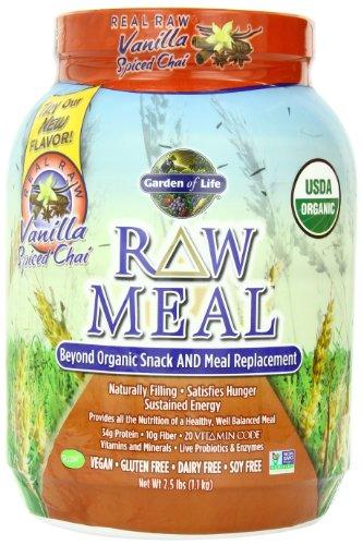 Garden Of Life Raw Organic Meal Vanilla Chai 1115g Powder Victoriahewittldke